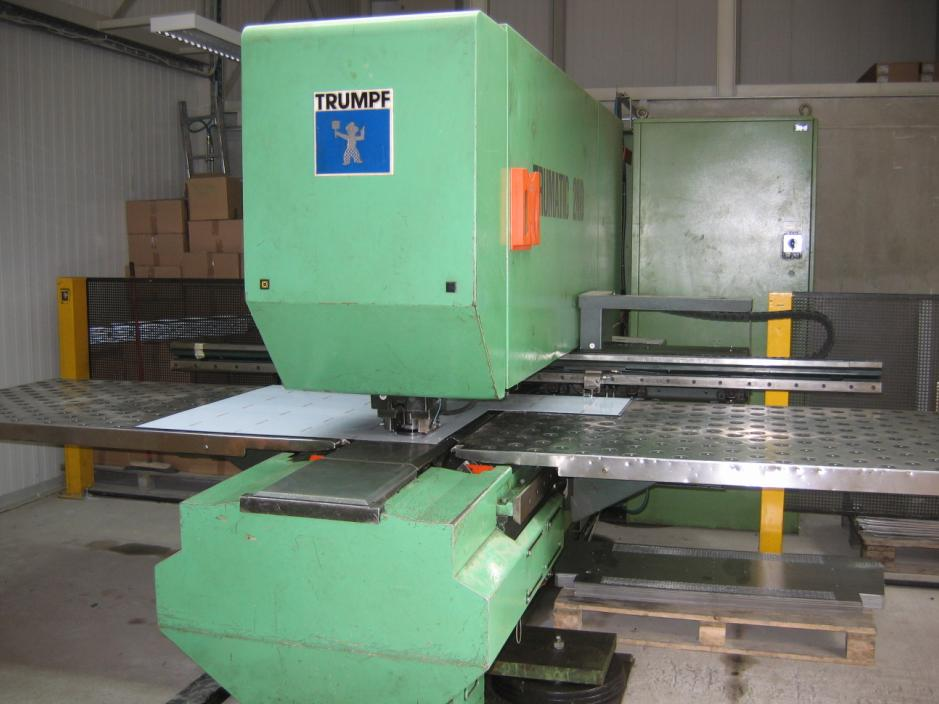 trumpf trumagrip punching machine nibbling with